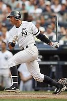 08/09/10 Bronx, NY: New York Yankees third baseman Alex Rodriguez #13 during an MLB game played between the New York Yankees and the Boston Red Sox played at Yankee Stadium where the Red Sox defeated the Yankees 2-1.