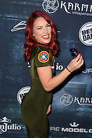 LOS ANGELES, CA - OCTOBER 22: Sharna Burgess at the Maxim Halloween at The Shrine Expo Hall on October 22, 2016 in Los Angeles, California. Credit: David Edwards/MediaPunch