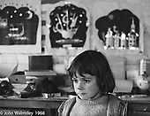 Daydreaming, Art room, Summerhill school, Leiston, Suffolk, UK. 1968.