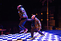London, UK. 23.10.2014. A HARLEM DREAM choreographed by Ivan Blackstock, opens in the Maria, at the Young Vic. Picture shows: Ivan Blackstock and Darren Charles. Photograph © Jane Hobson.