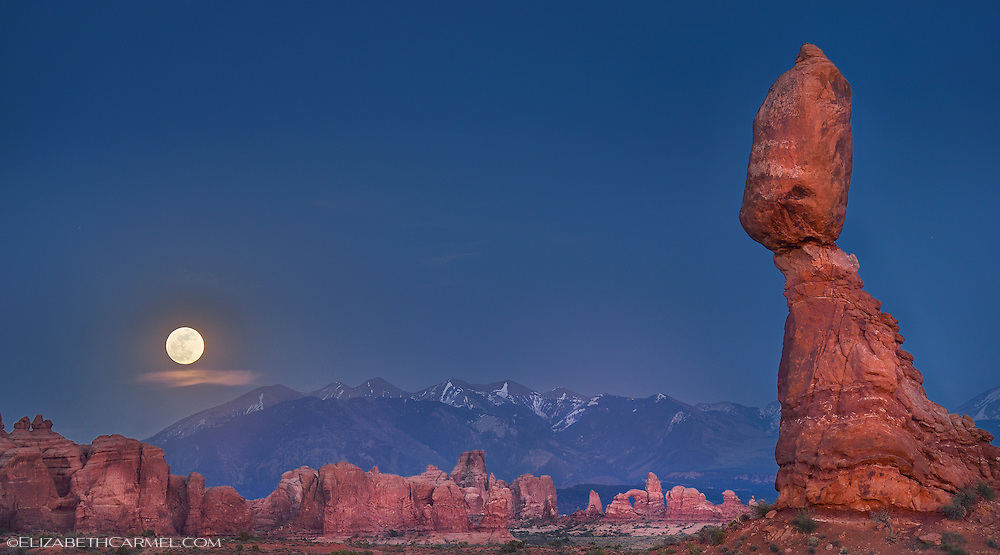 Moab Moonrise