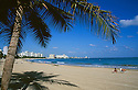 San Juan, Puerto Rico: beach and resort hotels at Isla Verde.