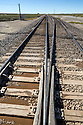 WY02403-00...WYOMING - Railroad track at Arminto.