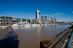 Buenos Aires, Argentina - The Waterfront in downtown Buenos Aires