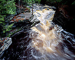 Canyon Falls, Michigan, June, 1991