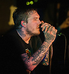 The Gaslight Anthem playing Boston's Middle East Club . July 22, 2012. &copy;&nbsp;Rocco S. Coveillo/MediaPunch Inc. /NortePhoto.com*<br />