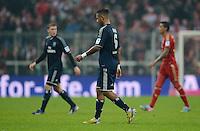 FUSSBALL   1. BUNDESLIGA  SAISON 2012/2013   27. Spieltag   FC Bayern Muenchen - Hamburger SV    30.03.2013 Enttaeuschung Dennis Aogo (Hamburger SV)