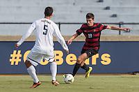 BERKELEY, CA - November 16, 2014: The Stanford Cardinal vs Cal Bears men's soccer match in Berkeley, California. Final score, Stanford 3, Cal 2 in 2OT.