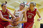 2015 girls basketball: Mountain View High School vs. Saratoga High School