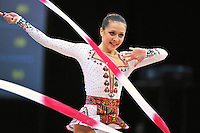 Silviya Miteva of Bulgaria performs at 2010 World Cup at Portimao, Portugal on March 13, 2010.  (Photo by Tom Theobald).