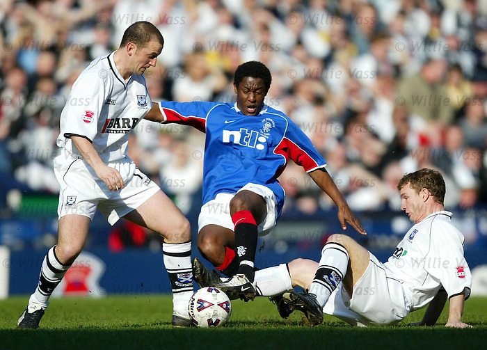 Russell Latapy, Rangers CIS Cup Final v Ayr Utd 2002