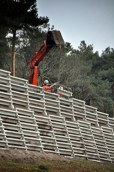 Geluidswal nieuwbouw bouwnijverheid ton borsboom fotografie - Scherm huis ...