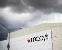 The Macy's in the Queens Center Mall in New York on Friday, April 8, 2016.  (© Richard B. Levine) Photo illustration