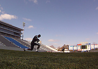 Bill Hamid#28 of D.C. United during a training session in Hapgood Stadium on the campus of the Citadel,on March 11 2011, in Charleston, South Carolina