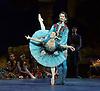 Le Corsaire <br /> English National Ballet <br /> at The Milton Keynes Theatre, Milton Keynes, Great Britain <br /> rehearsal <br /> 16th October 2013 <br /> <br /> Alina Cojocaru <br /> as Medora<br /> <br /> Vadim Muntagirov as Conrad <br /> <br /> Photograph by Elliott Franks