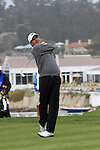 Fred Couples at the 5th Tee at Pebble Beach Golf Links. First Tee Open