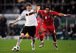 Fussball WM 2010 Qualifikation, Deutschland - Wales