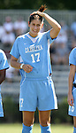 23 September 2007: North Carolina's Yael Averbuch. The University of North Carolina Tar Heels defeated the University of San Francisco Dons 2-0 at Koskinen Stadium in Durham, North Carolina in an NCAA Division I Women's Soccer game, and part of the annual Duke Adidas Classic tournament.