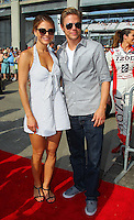 Entertainment - Maria Menounos and Derek Hough - Indianapolis 500