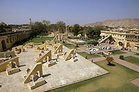 India, Rajasthan, Jaipur, Jantar Mantar (Royal Observatory)