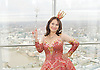 Dick Whittington <br /> publicity pictures <br /> taken from The View From The Shard, London Bridge Quarter, London, Great Britain <br /> press photocall <br /> 17th November 2016 <br /> <br /> <br /> Arlene Phillips as Fairy Bowbells <br /> <br /> <br /> <br /> Photograph by Elliott Franks <br /> Image licensed to Elliott Franks Photography Services