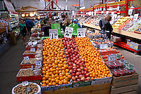 Fresh fruit and nuts for sale in the city of Saint John, New Brunswick, Canada