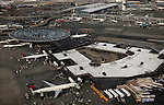 International airport John F. Kennedy in NYC