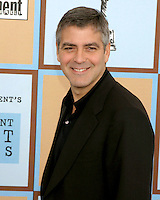 George Clooney.Independent Spirit Awards.Santa Monica Beach.Santa Monica, CA.March 4, 2006.©2006 Kathy Hutchins / Hutchins Photo....