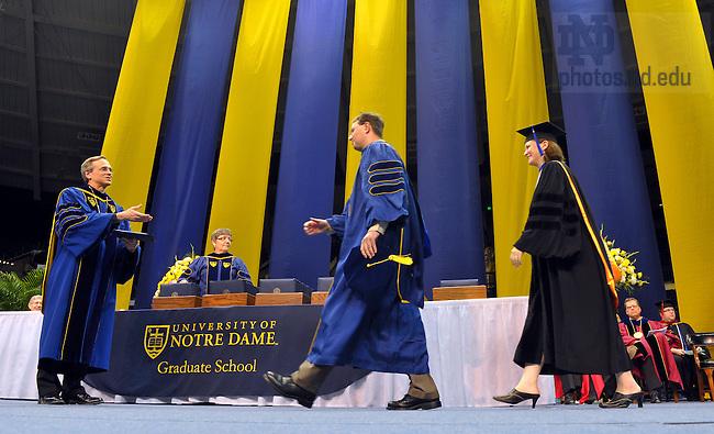 Graduate School Commencement, 2010...Photo by Matt Cashore/University of Notre Dame