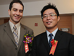 Taiwanese Wedding -- The groom and best man.