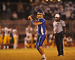 Oxford High's Parker Adamson (3) throws a touchdown pass in overtime vs. Hernando in Oxford, Miss. on Friday, October 14, 2011. Hernando won 31-30 in overtime.