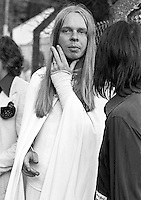 Rick Wakeman picture in 1974.  Credit: Ian Dickson/MediaPunch