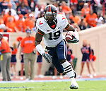 30 September 2006: Virginia's Emmanuel Byers. The Duke University Blue Devils lost 37-0 to the University of Virginia Cavaliers at Wallace Wade Stadium in Durham, North Carolina in an Atlantic Coast Conference NCAA Division I College Football game.
