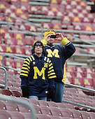 The University of Michigan football team beat Minnesota, 35-13, at TCF Bank Stadium in Minneapolis, Minn., on November 3, 2012.