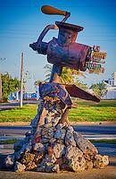 Parque de las Esculturas in Cienfuegos, Cuba