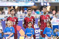 SAN JOSE, CA - May 18, 2018: The San Jose Earthquakes vs Real Sociedad international friendly match at Avaya Stadium. Final score SJ Earthquakes 2, Real Sociedad 1.