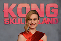 Brie Larson at the premiere for &quot;Kong: Skull Island&quot; at Dolby Theatre, Los Angeles, USA 08 March  2017<br /> Picture: Paul Smith/Featureflash/SilverHub 0208 004 5359 sales@silverhubmedia.com