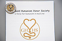 Student Clinician Ceremony. Gold Humanism Honor Society.