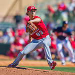 4 March 2016: St. Louis Cardinals pitcher Luke Weaver on the mound during a Spring Training pre-season game against the Houston Astros at Osceola County Stadium in Kissimmee, Florida. The Cardinals fell to the Astros 6-3 in Grapefruit League play. Mandatory Credit: Ed Wolfstein Photo *** RAW (NEF) Image File Available ***