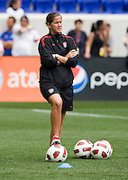 Erica Walsh. The USWNT defeated Mexico, 1-0, during the game at Red Bull Arena in Harrison, NJ.