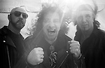 Heavy metal band Anvil stand for a portrait before a performance during the Harvest of Hope music festival in Florida in the spring of 2009.