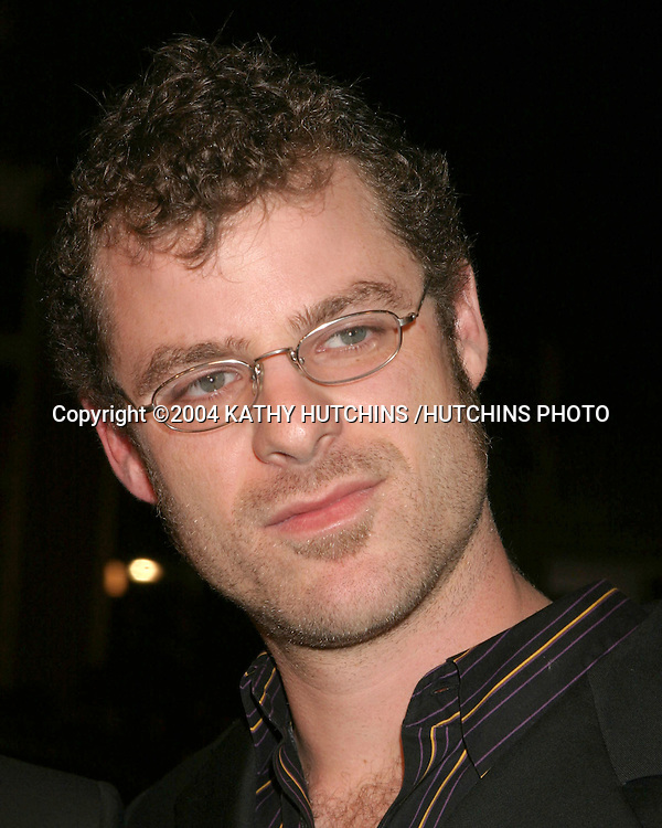 ©2004 KATHY HUTCHINS /HUTCHINS PHOTO.TEAM AMERICA:  WORLD POLICE PREMIERE.LOS ANGELES, CA.OCTOBER 11, 2004..MATT STONE.
