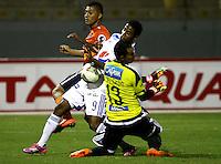 Universidad Cesar Vallejo de Peru V.S. Millonarios de Colombia 28-08-2014