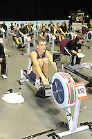 Birmingham, Great Britain, Men's Student Lwt,  Gold medallist, Mark MITCHELL, Mad Team / Bexhill RC,  competing at the 2008 British Indoor Rowing Championships, National Indoor Arena. on  Sunday 26.10.2008 . [Photo, Peter Spurrier/Intersport-images] ..