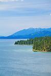 Flathead Lake shoreline in western Montana