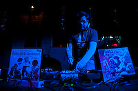 DJ Jack Frost at the Biss Entertainment Silver Ball Holiday Party at The Independent