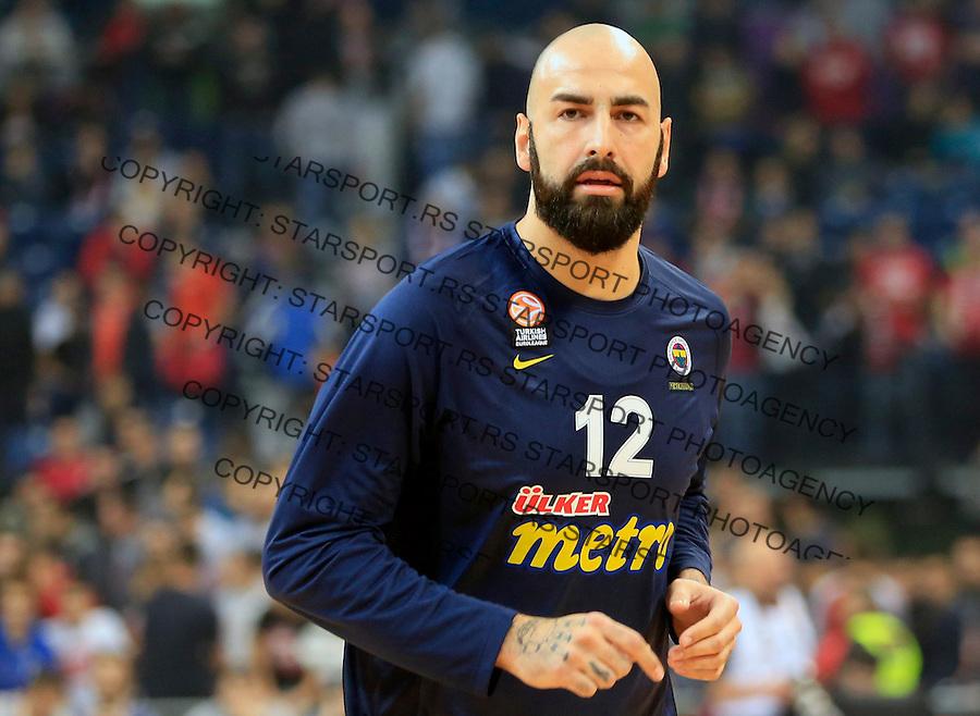 Kosarka Euroleague season 2015-2016<br /> Euroleague <br /> Crvena Zvezda v Fenebahce Istanbul<br /> Pero Antic<br /> Beograd, 06.11.2015.<br /> foto: Srdjan Stevanovic/Starsportphoto &copy;