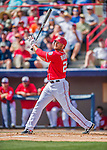 3 March 2016: Washington Nationals first baseman Clint Robinson in action during a Spring Training pre-season game against the New York Mets at Space Coast Stadium in Viera, Florida. The Nationals defeated the Mets 9-4 in Grapefruit League play. Mandatory Credit: Ed Wolfstein Photo *** RAW (NEF) Image File Available ***