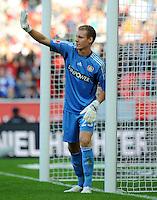 FUSSBALL   1. BUNDESLIGA   SAISON 2011/2012    2. SPIELTAG Bayer 04 Leverkusen - SV Werder Bremen              14.08.2011 Torwart Bernd LENO (Leverkusen)