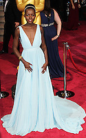 HOLLYWOOD, LOS ANGELES, CA, USA - MARCH 02: Lupita Nyong'o at the 86th Annual Academy Awards held at Dolby Theatre on March 2, 2014 in Hollywood, Los Angeles, California, United States. (Photo by Xavier Collin/Celebrity Monitor)